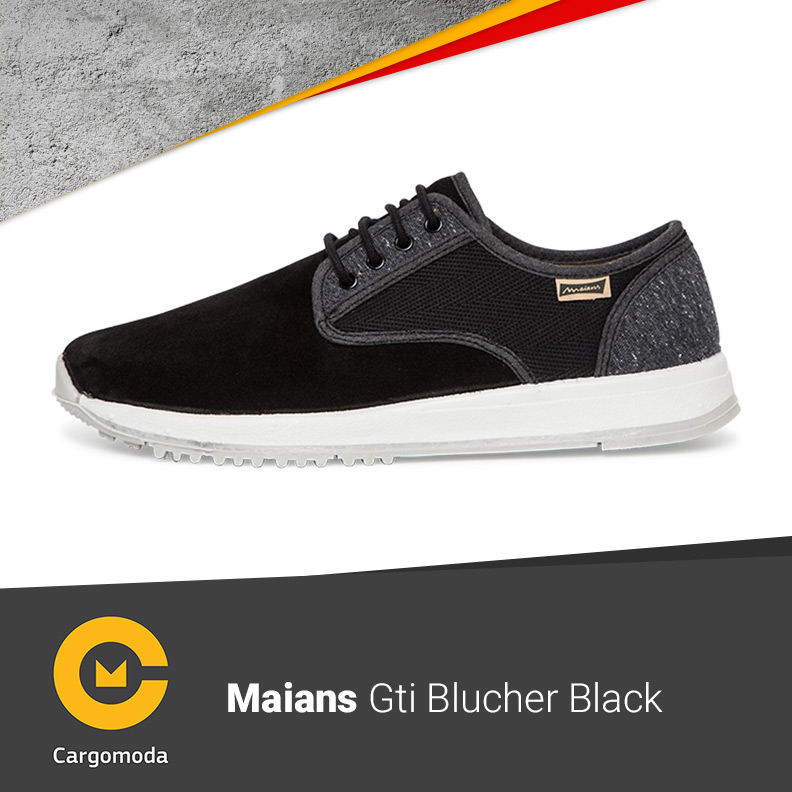MAIANS GTI BLUCHER BLACK
