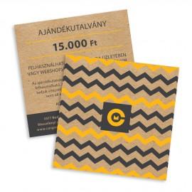 Ajándékutalvány 15000 Ft