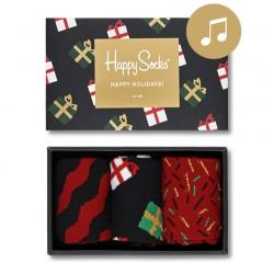 Happy Socks ZENÉLŐ X-MAS Socks Gift Box