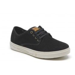 Natural World Blucher Suede Negro