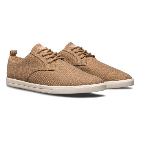 Clae Ellington Textile Tan Hemp Canvas