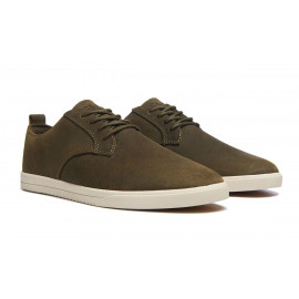 Clae Ellington Olive Waxed Canvas